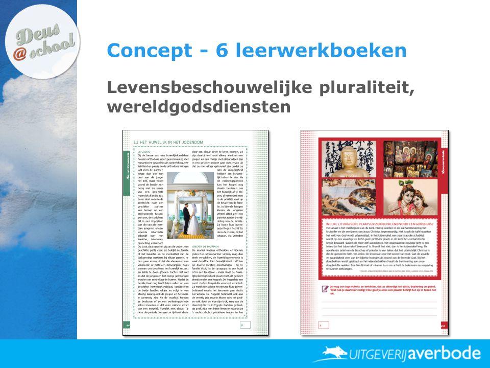 Concept - 6 leerwerkboeken