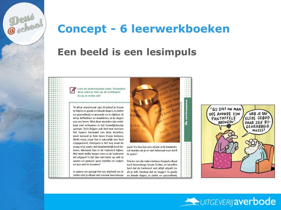 Concept - 6 leerwerkboeken Een beeld is een lesimpuls