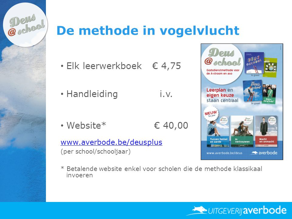 De methode in vogelvlucht