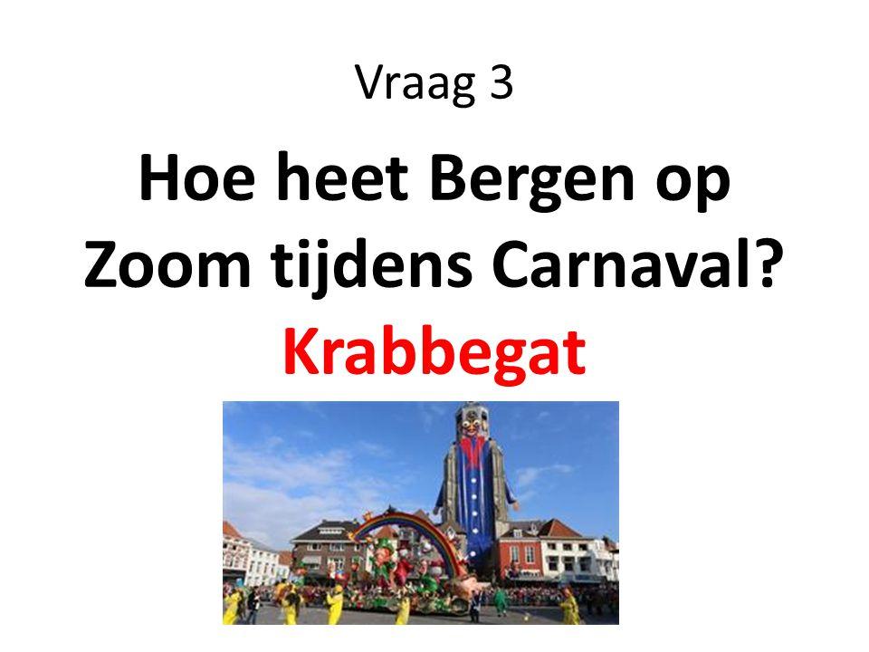 Hoe heet Bergen op Zoom tijdens Carnaval