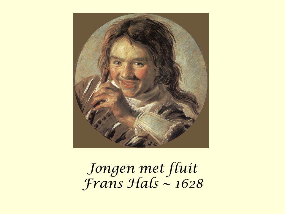 Jongen met fluit Frans Hals ~ 1628