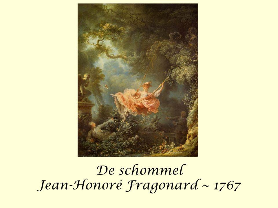 De schommel Jean-Honoré Fragonard ~ 1767