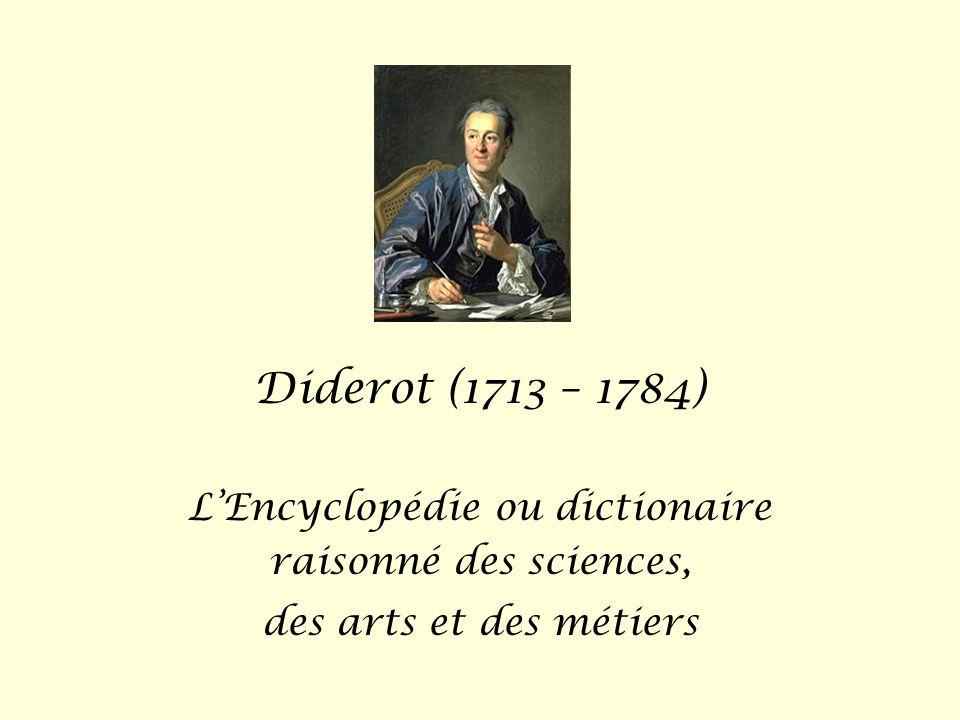 L'Encyclopédie ou dictionaire