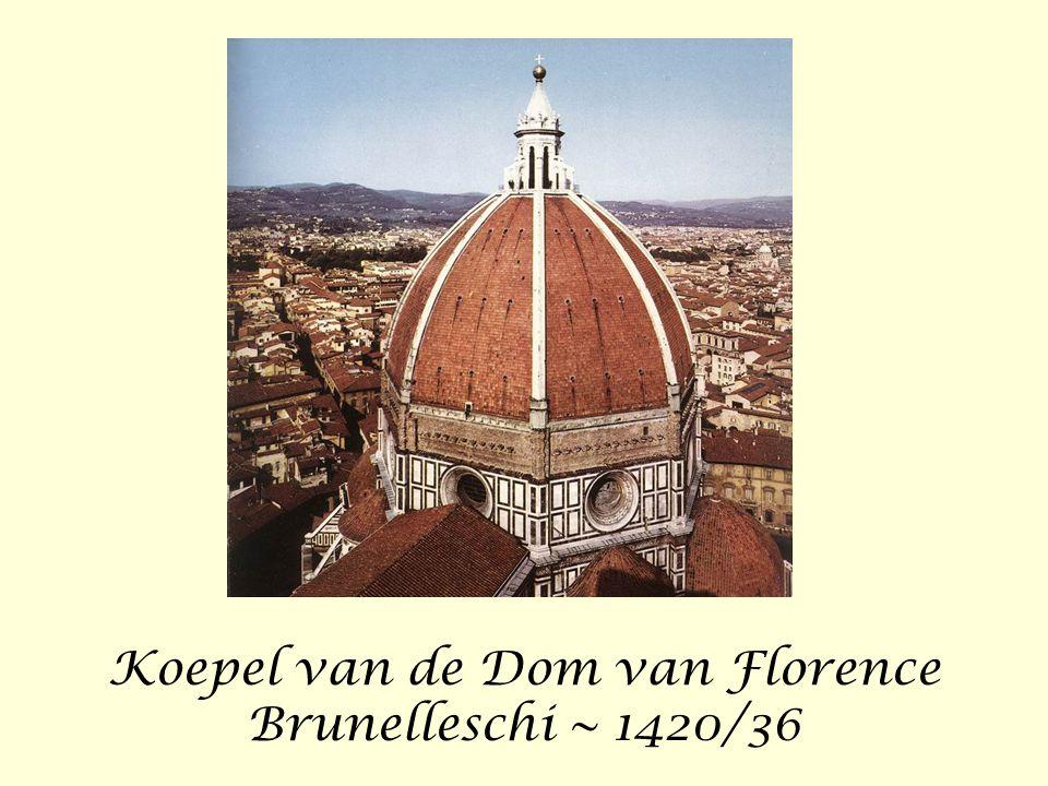 Koepel van de Dom van Florence Brunelleschi ~ 1420/36