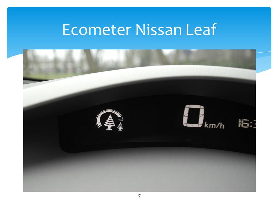 Ecometer Nissan Leaf