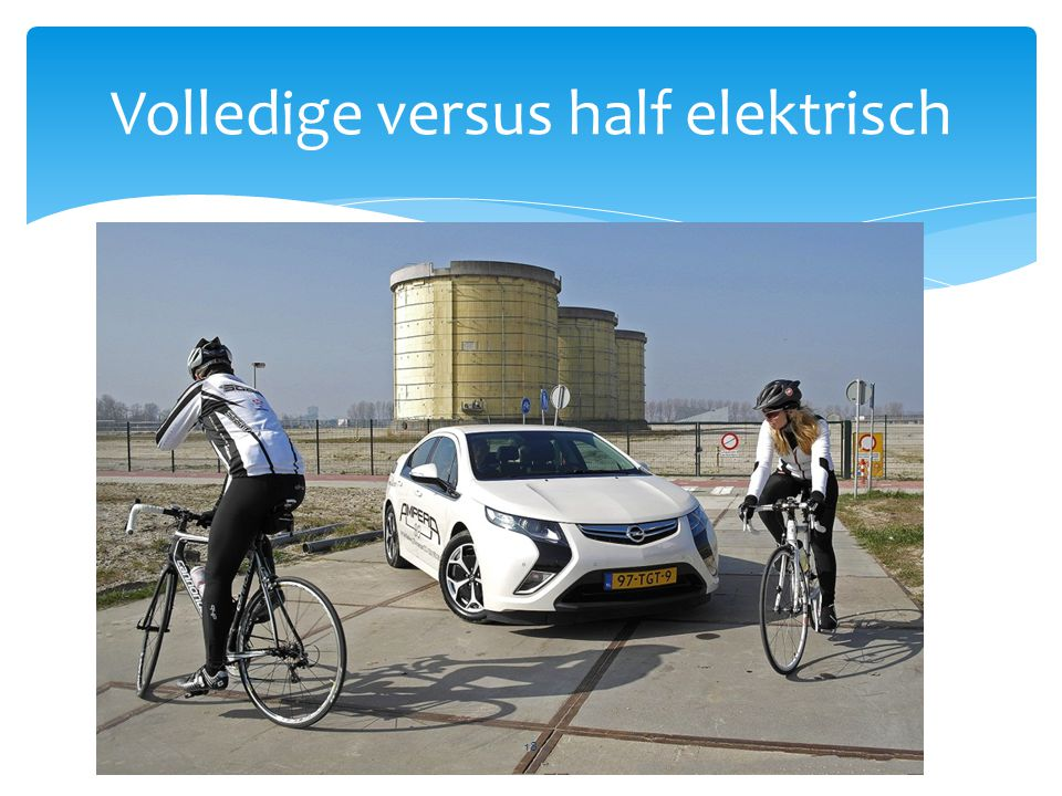 Volledige versus half elektrisch