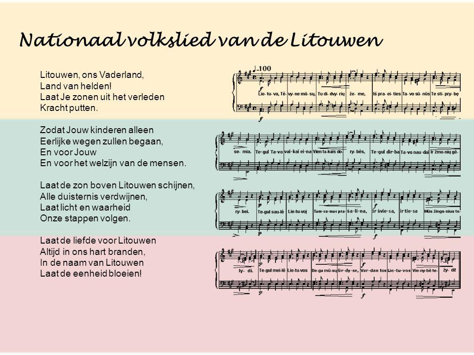 Nationaal volkslied van de Litouwen