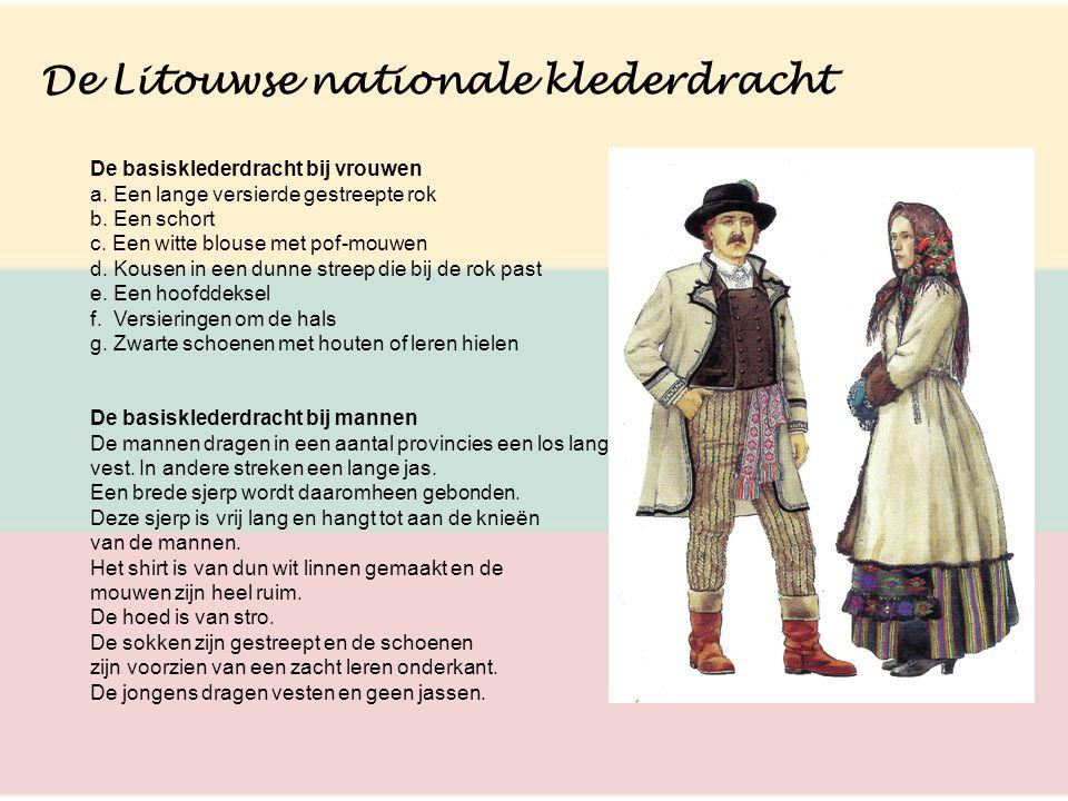 De Litouwse nationale klederdracht