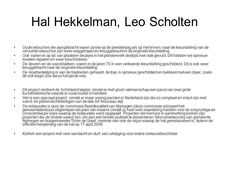 Hal Hekkelman, Leo Scholten