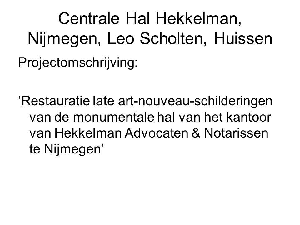 Centrale Hal Hekkelman, Nijmegen, Leo Scholten, Huissen