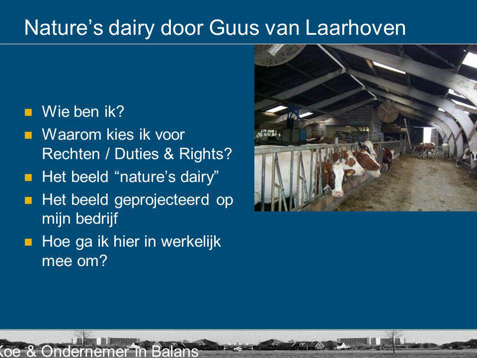 Nature's dairy door Guus van Laarhoven