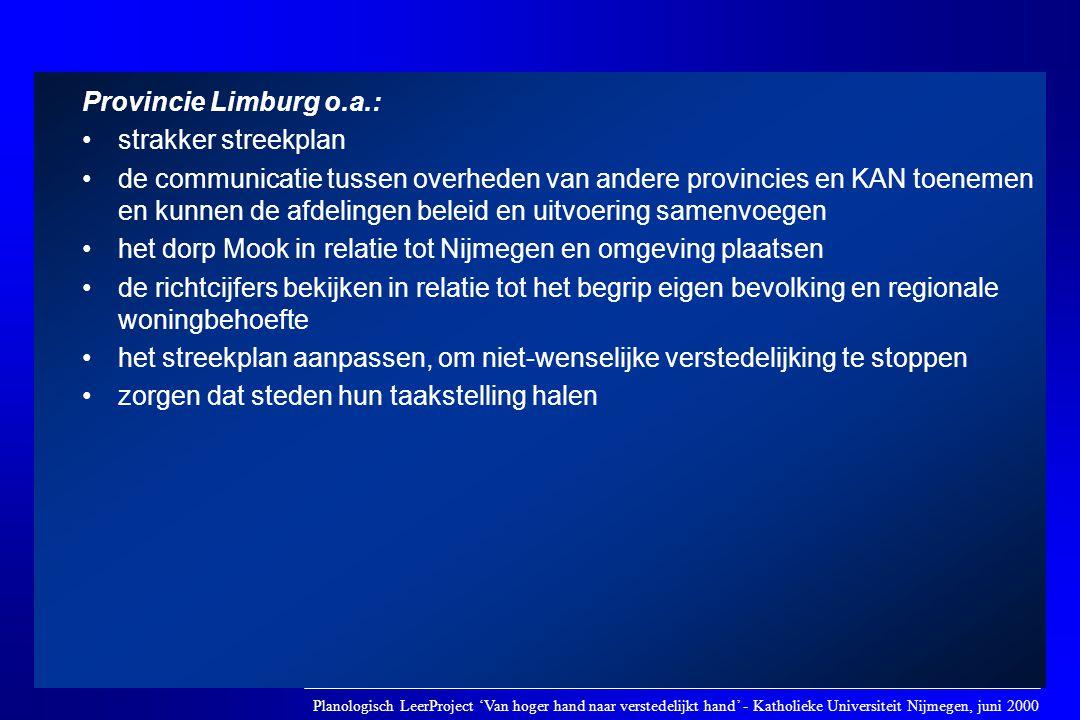 het dorp Mook in relatie tot Nijmegen en omgeving plaatsen