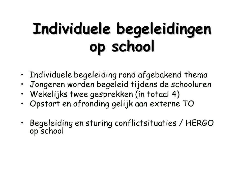 Individuele begeleidingen op school