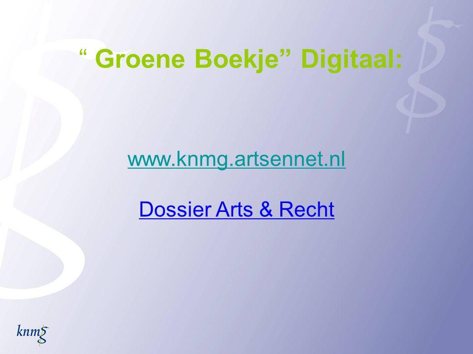 Groene Boekje Digitaal:
