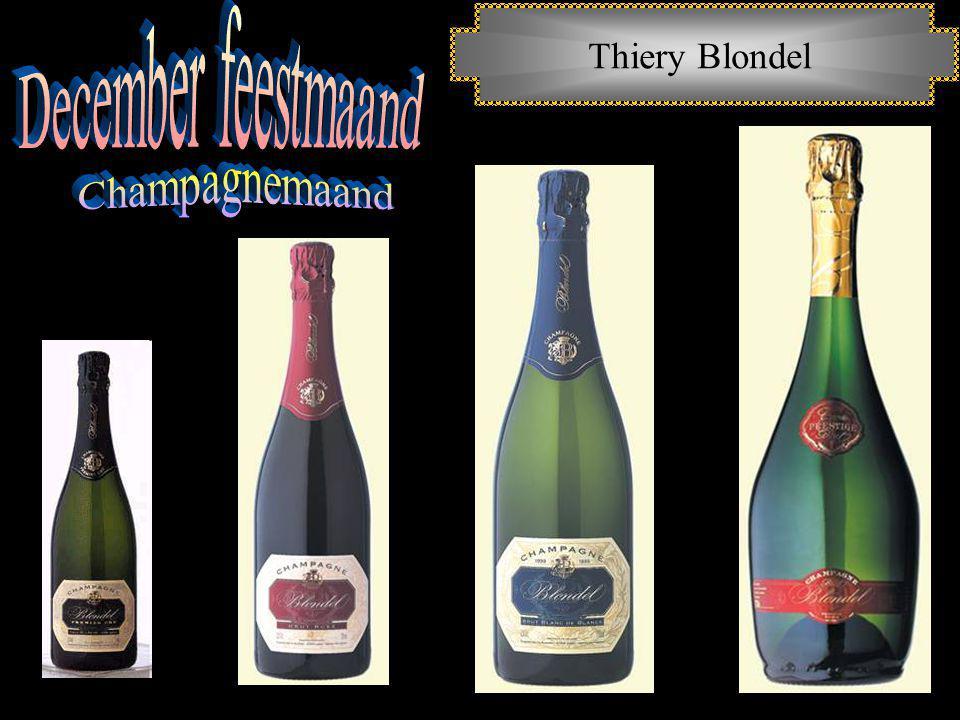 December feestmaand Thiery Blondel Champagnemaand