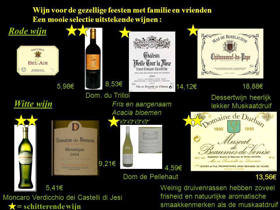 Wijn voor de gezellige feesten met familie en vrienden