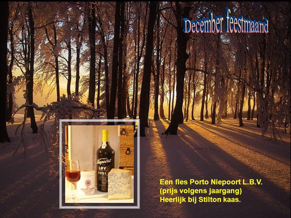 December feestmaand Een fles Porto Niepoort L.B.V.