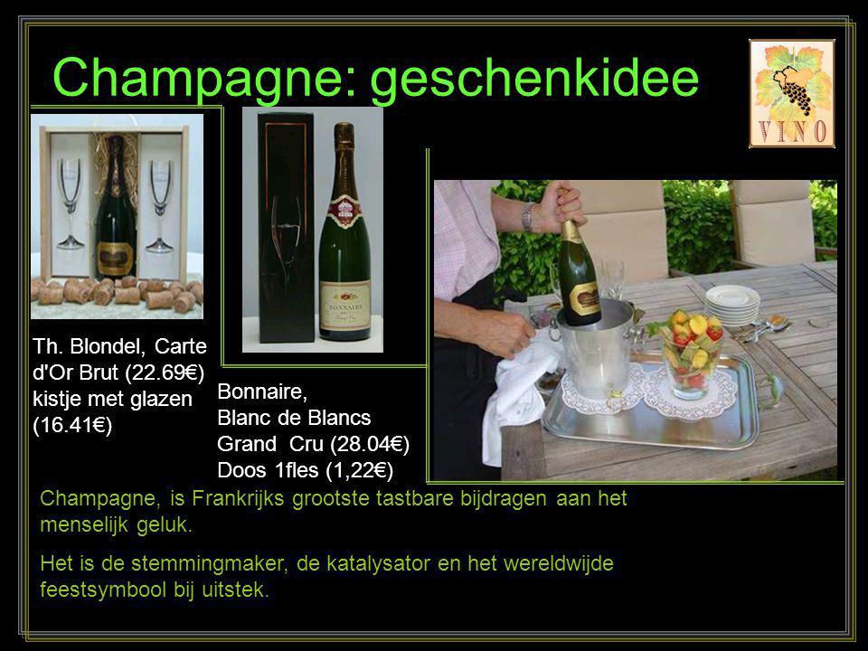 Champagne: geschenkidee
