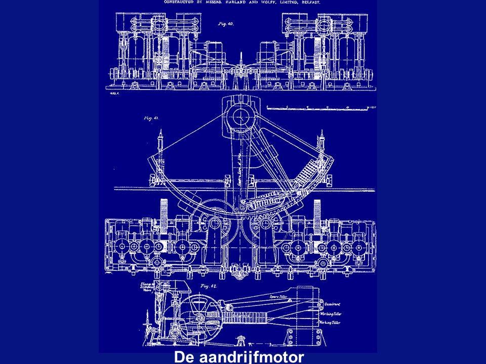 De aandrijfmotor