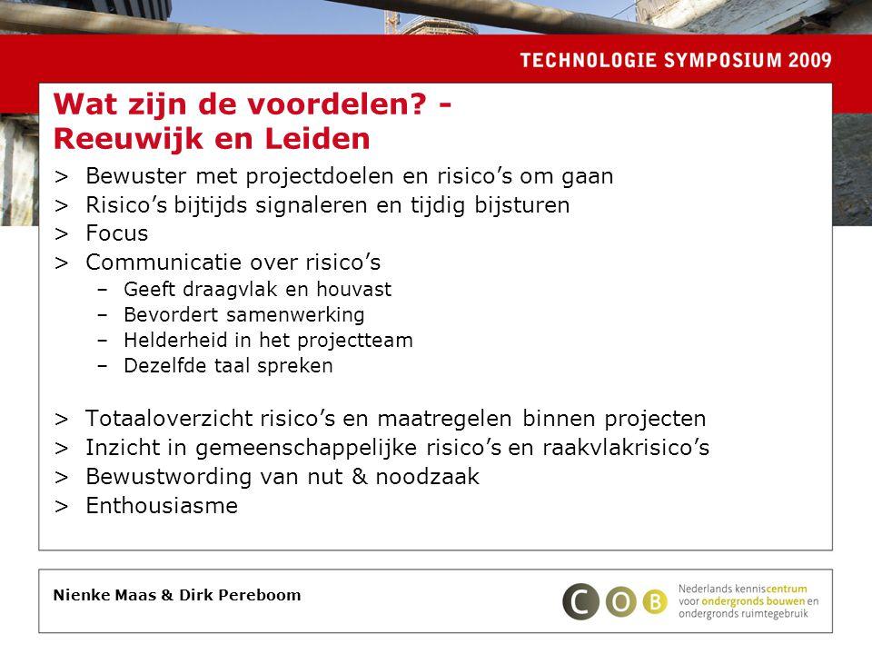Wat zijn de voordelen - Reeuwijk en Leiden