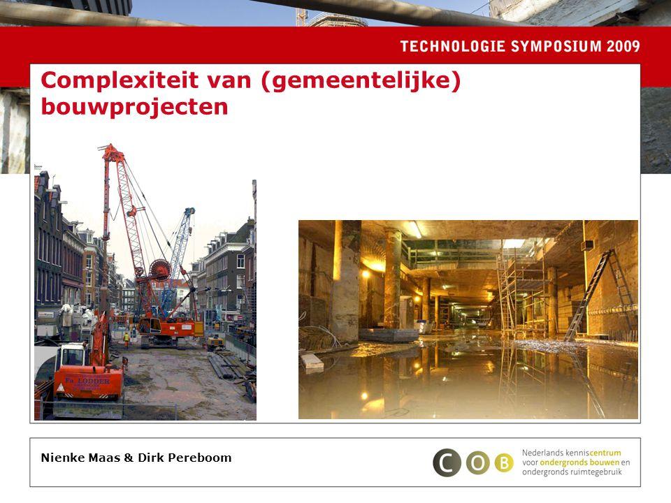 Complexiteit van (gemeentelijke) bouwprojecten