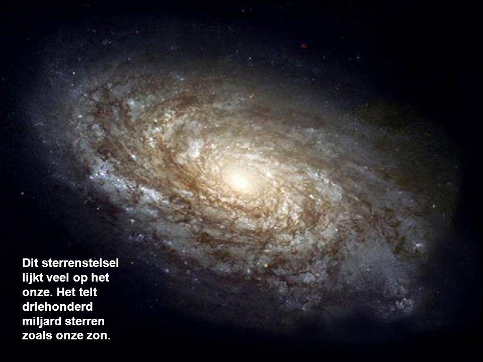 Dit sterrenstelsel lijkt veel op het onze