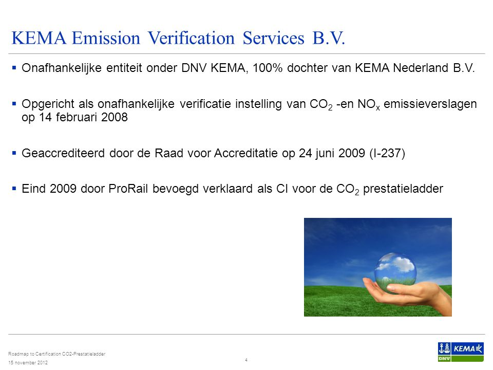 KEMA Emission Verification Services B.V.