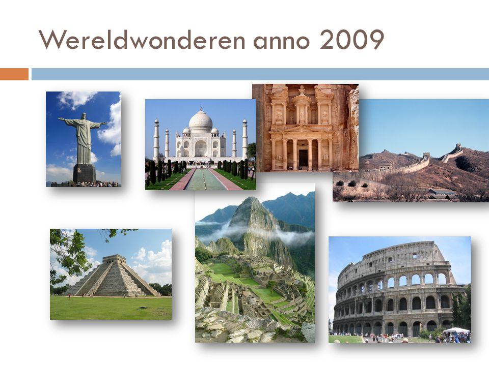 Wereldwonderen anno 2009