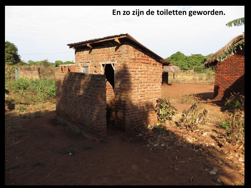 En zo zijn de toiletten geworden..
