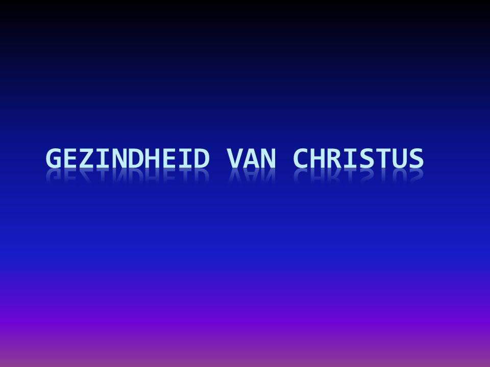 Gezindheid van Christus