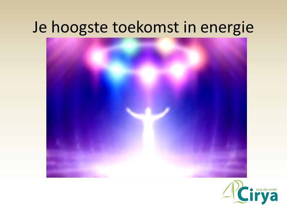 Je hoogste toekomst in energie