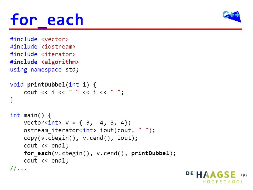 for_each met lambda #include <vector> #include <iostream>