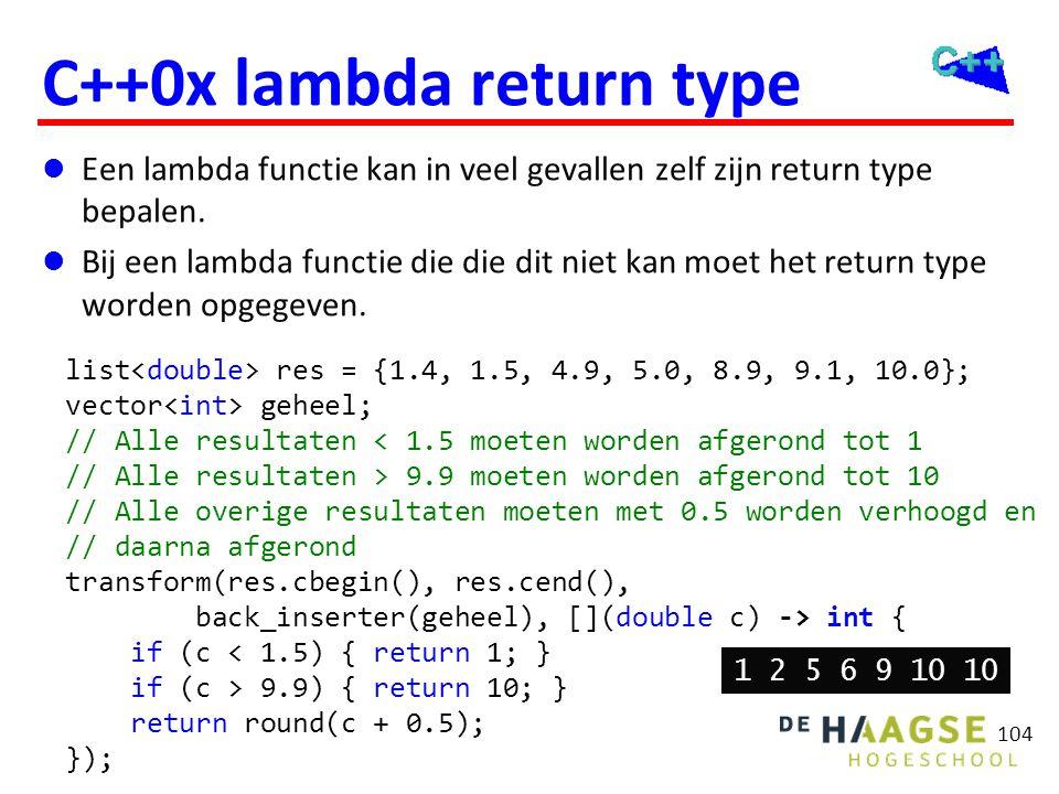 Algoritmen (vervolg) Vergeten in C++98 toegevoegd in C++11 Kopiëren