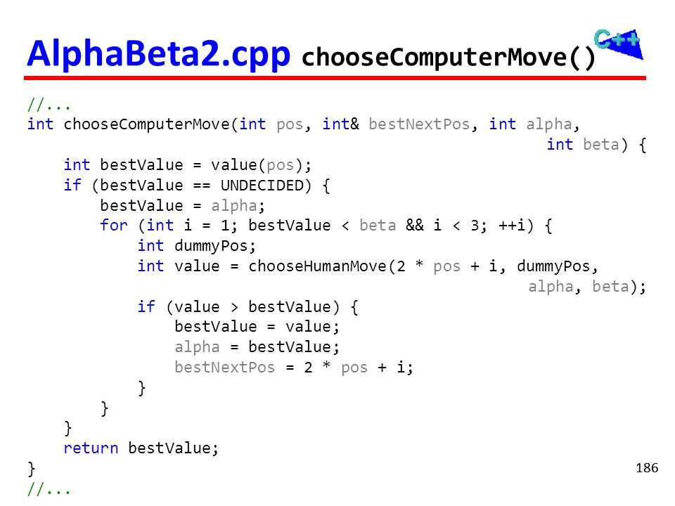 AlphaBeta2.cpp chooseComputerMove()