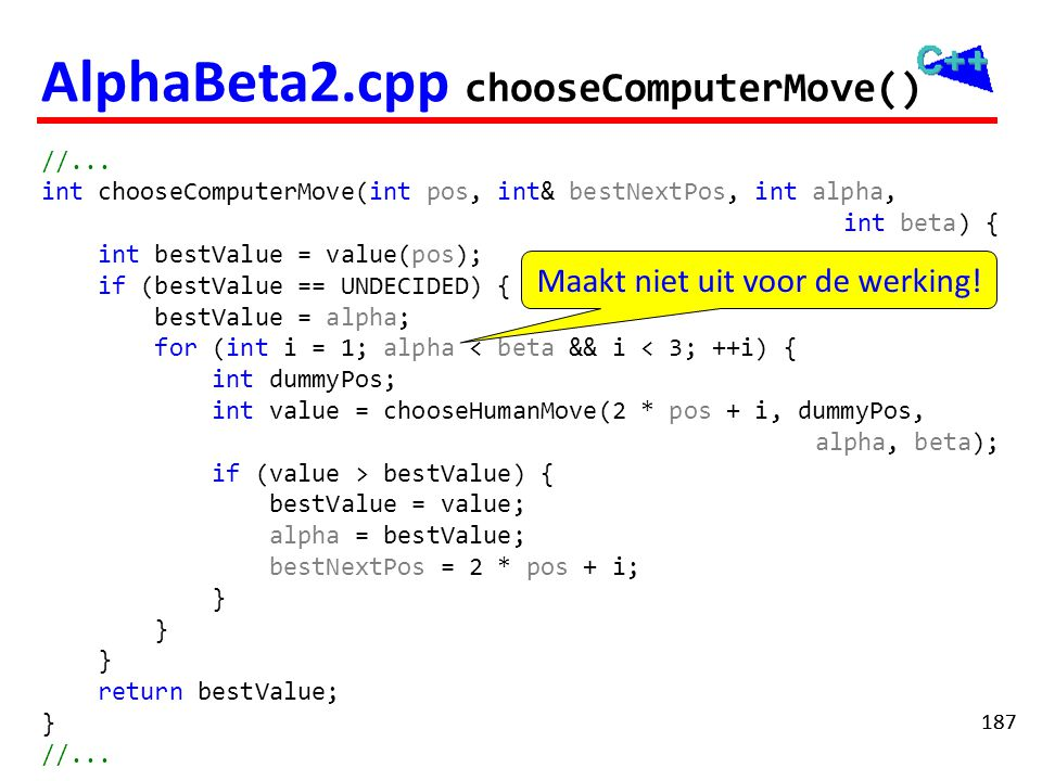 AlphaBeta2.cpp chooseHumanMove()