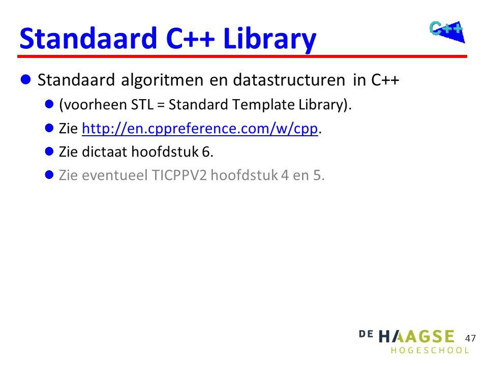 STL Containers (datastructuren)