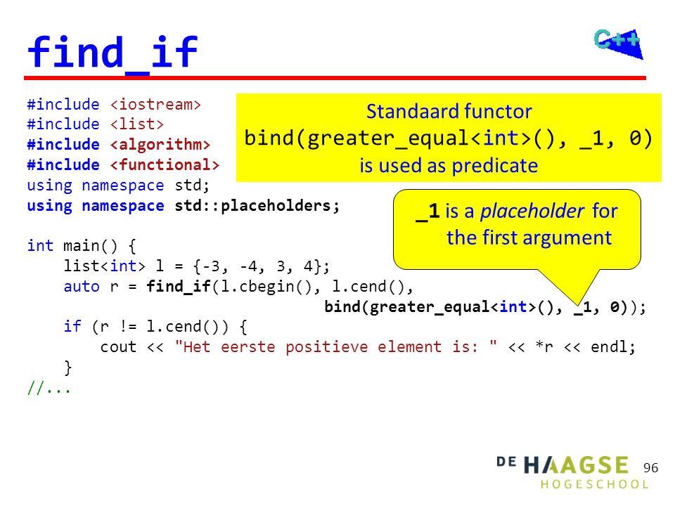 Lambda functie C++11 Een lambda functie is een anonieme functie die eenmalig gebruikt wordt als een functie object (functor).