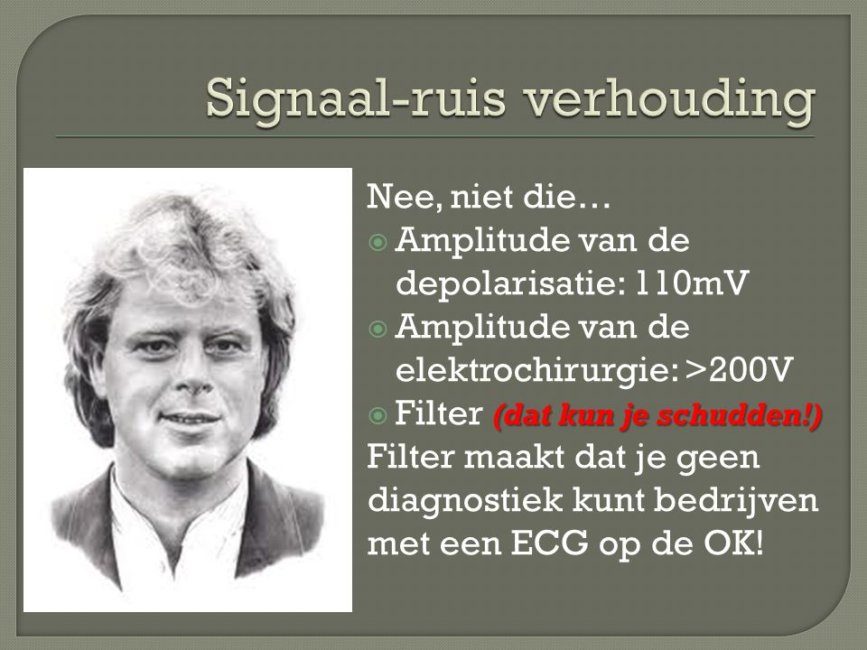 Signaal-ruis verhouding