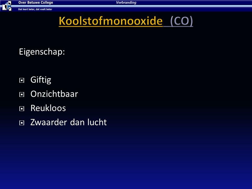 Koolstofmonooxide (CO)