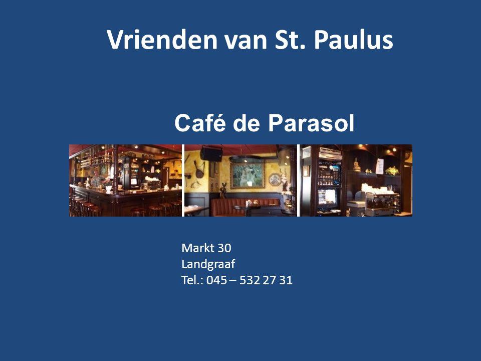 Vrienden van St. Paulus Café de Parasol