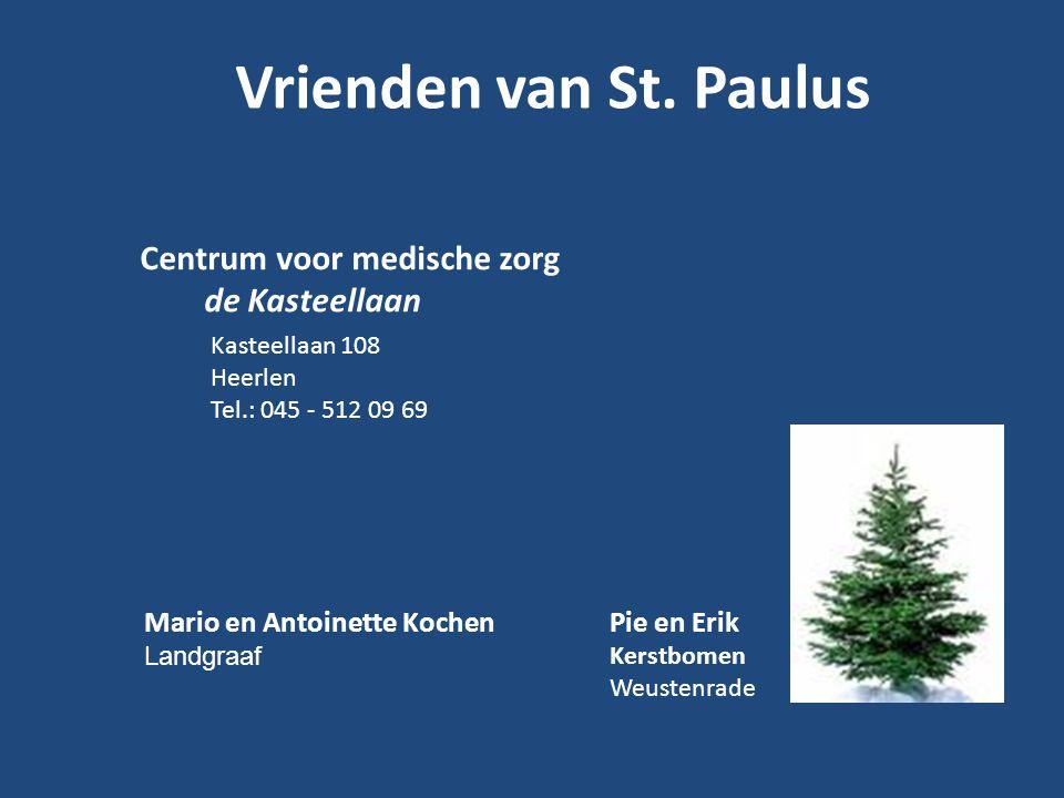 Vrienden van St. Paulus de Kasteellaan Mario en Antoinette Kochen