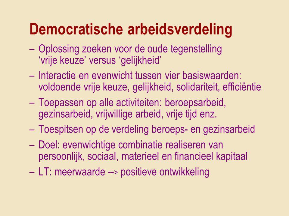 Democratische arbeidsverdeling