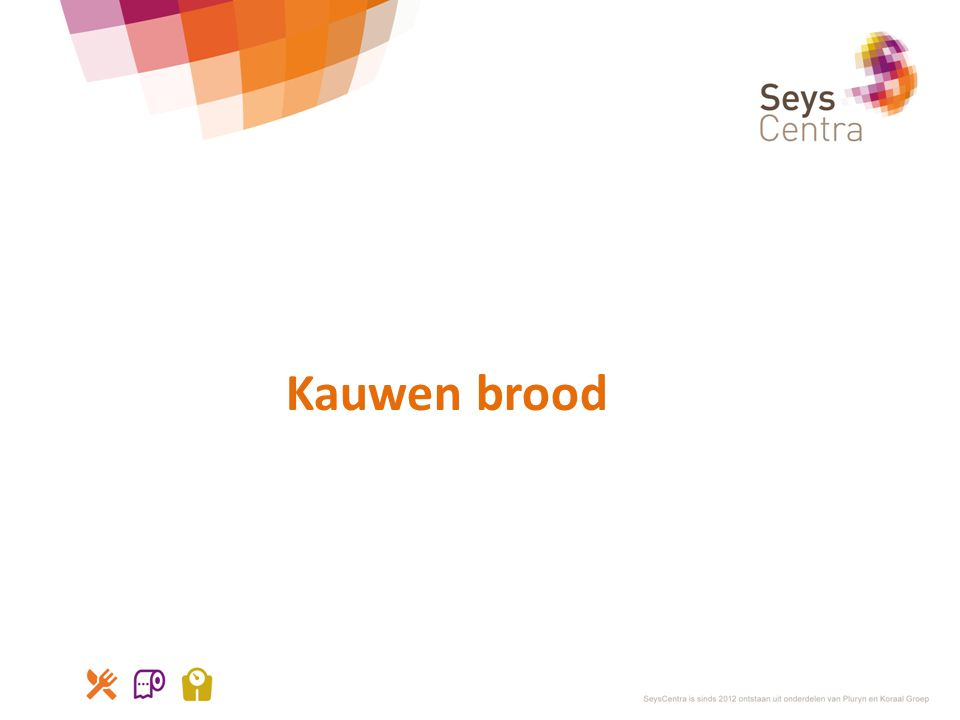 Kauwen brood