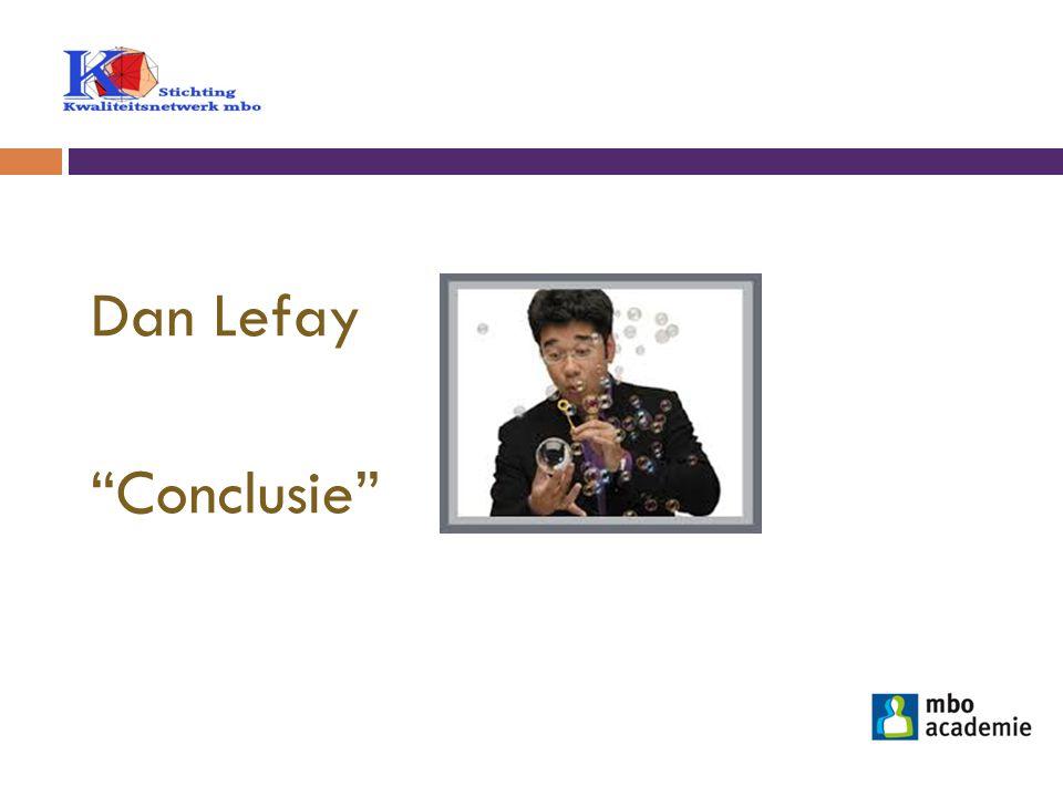 Dan Lefay Conclusie