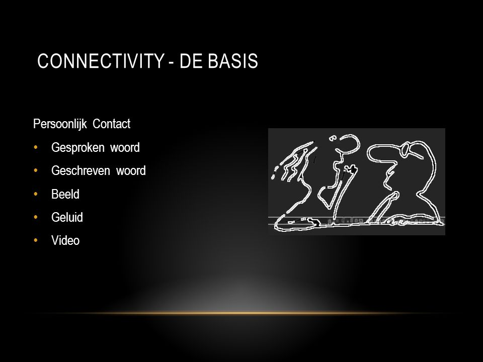 Connectivity - DE basis