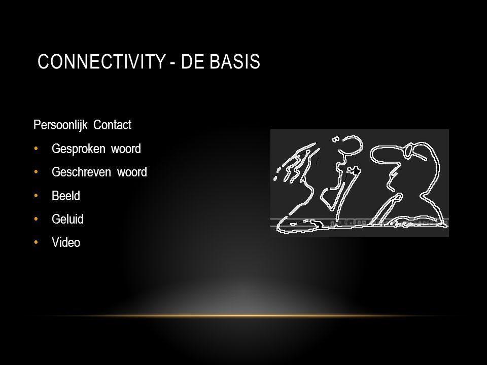Connectivity - DE basis