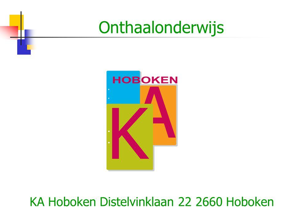 KA Hoboken Distelvinklaan 22 2660 Hoboken