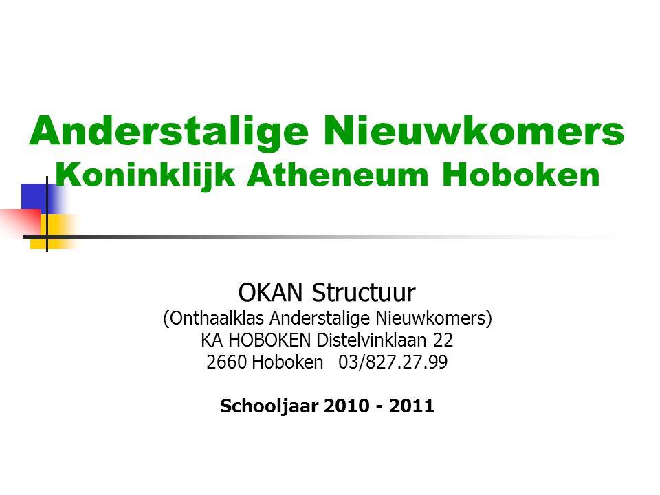 Anderstalige Nieuwkomers Koninklijk Atheneum Hoboken