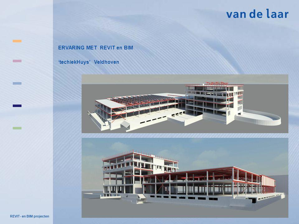 ERVARING MET REVIT en BIM 'techiekHuys' Veldhoven