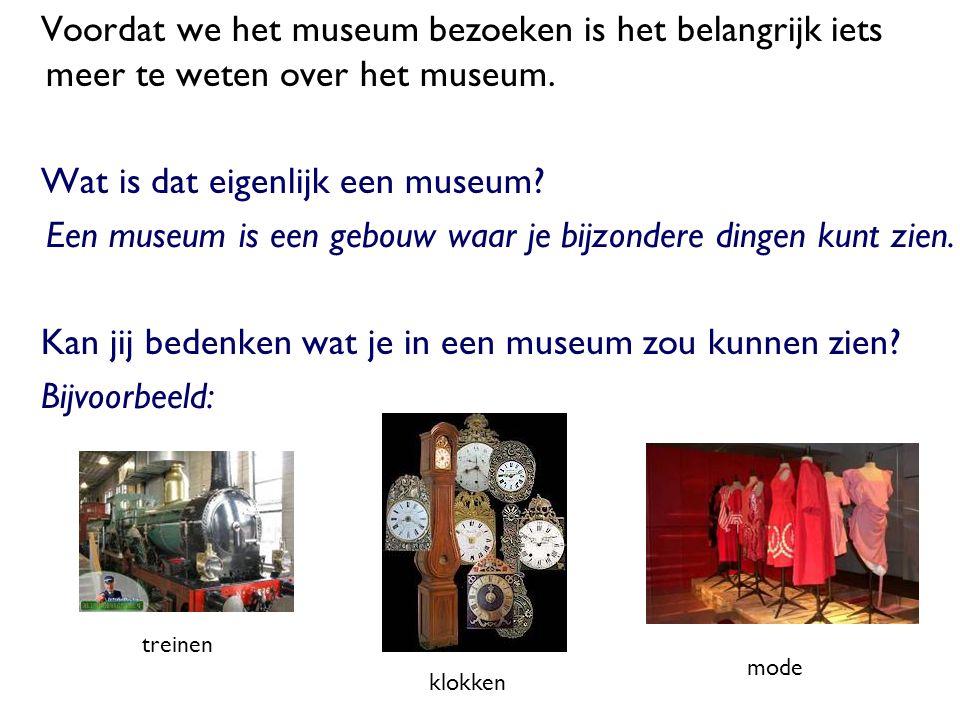 Wat is dat eigenlijk een museum